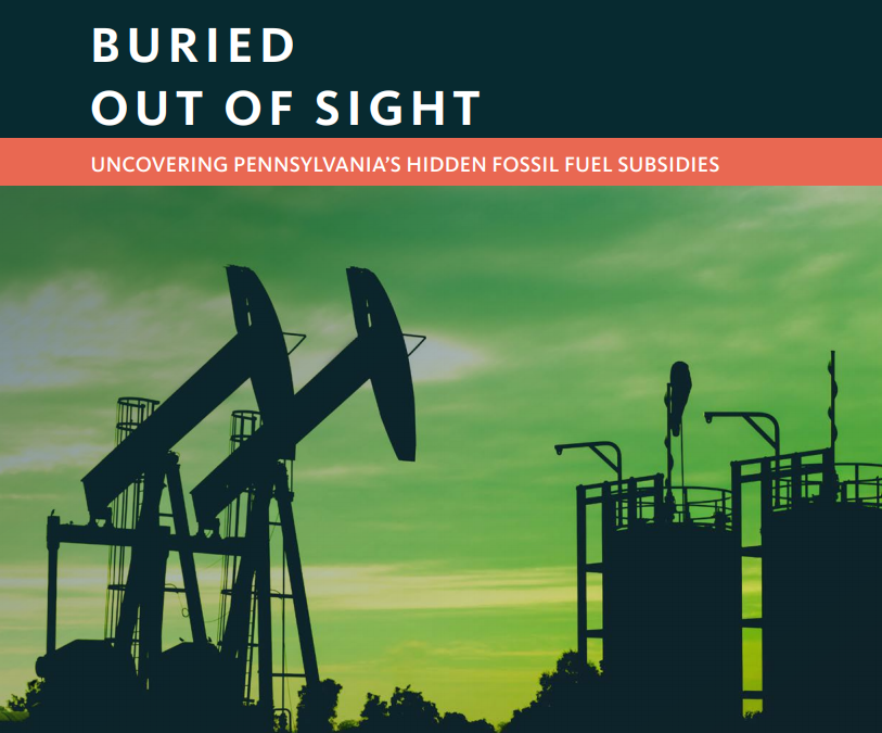 The Failure of Fossil Fuel Subsidies in Pennsylvania