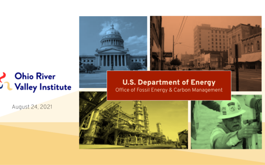 How the Department of Energy Can Help Mitigate Economic and Environmental Damage from Petrochemical Development and Fracking